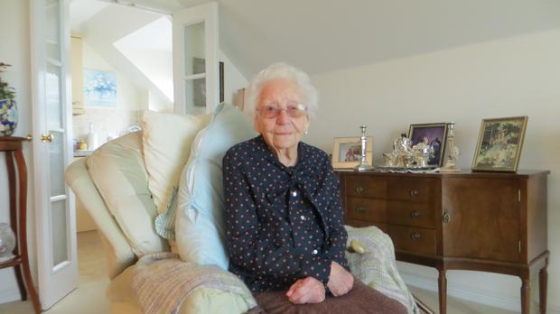 Lily Barnett, 97, (Help for Heroes/PA)