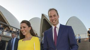 The Duke and Duchess, pictured during a previous visit to Australia (Arthur Edwards/The Sun)