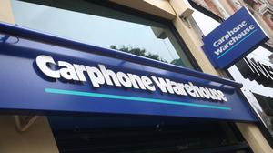 Nearly 3,000 jobs are being axed at Dixons Carphone after it announced plans to shut all 531 of its standalone Carphone Warehouse mobile phone stores in the UK (Yui Mok/PA)