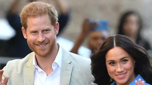 The Duke and Duchess of Sussex stepped down as working royals 100 days ago (Dominic Lipinski/PA)