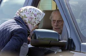 The 97-year old Duke of Edinburgh was left 'very shocked' and shaken by the crash (Steve Parsons/PA)
