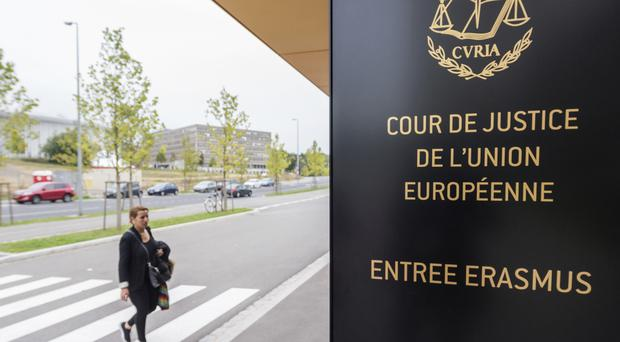 A judgment by the court will take place at a later date (Geert Vanden Wijngaert/AP)