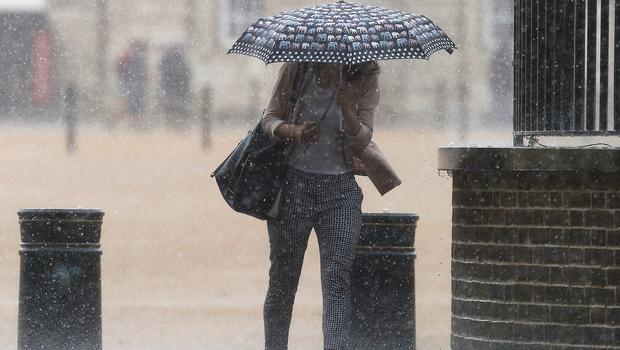 The bank holiday could be stormy for some (Philip Toscano/PA)