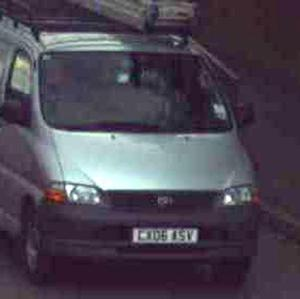 A van seized by police investigating the disappearance of Georgia Williams (West Mercia Police/PA)