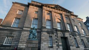 The case was heard at the High Court in Edinburgh (Andrew Milligan/PA)
