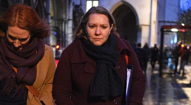 Former Labour MP Anna Turley has won a High Court libel fight (Kirsty O'Connor/PA)