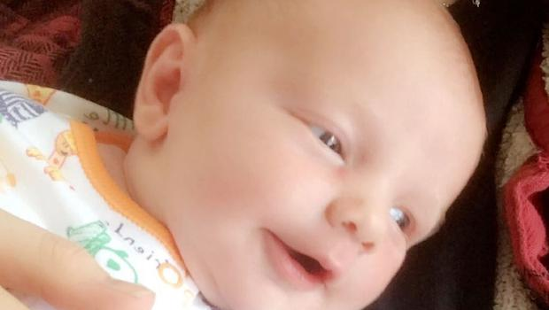 Six-week-old McKenzie Ellis who was murdered by his father Lee Vernon (Family handout/PA)