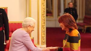"""The outspoken broadcaster said being made a CBE was a """"surprise"""" because of her past criticisms of the Royal Family"""