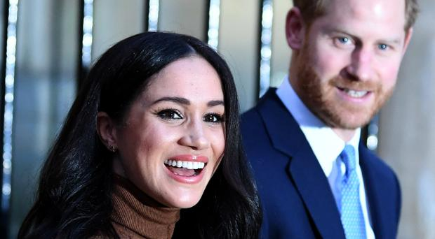 Meghan and Harry (Daniel Leal-Olivas/PA)