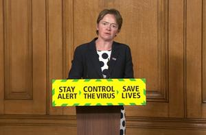 Baroness Dido Harding, executive chairwoman of NHS Test and Trace (PA)