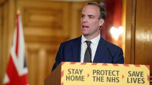 Foreign Secretary Dominic Raab (Pippa Fowles/10 Downing Street/Crown Copyright)