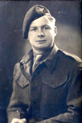 Mr Glover was just a teenager during the Second World War (Family handout/PA)