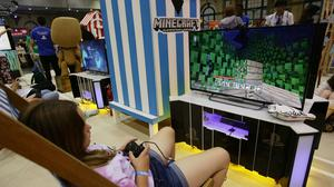 Minecraft is one of the most successful video games ever made (Yui Mok/PA)
