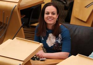 Kate Forbes called on the UK Government to be positive (Andrew Milligan/PA)