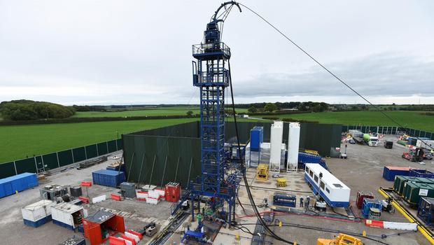 The new study raises questions over how much recoverable gas could be extracted from fracking in northern England (Cuadrilla/PA)