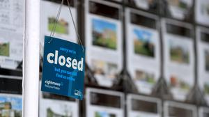 The Executive has been urged to provide clarity on when activity in the housing market such as inspections and valuations can restart. (Mike Egerton/PA Wire)