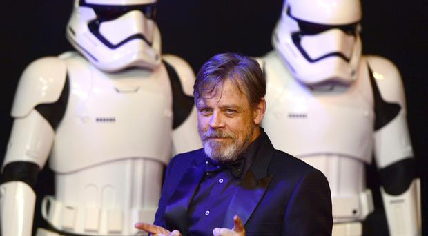 Mark Hamill arriving to the Star Wars: The Force Awakens European premiere held in Leicester Square (Anthony Devlin/PA)