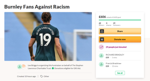 The page has already surpassed its initial £600 target (GoFundMe/ Screengrab)