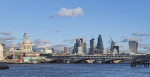Skyline view from South Bank