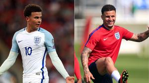 England's Dele Alli appeals during the 2018 FIFA World Cup Qualifying
