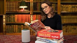 Amazon's Alexa has worked with TV wordsmith Susie Dent to add hundreds of alternative British words and regional phrases to the voice assistant's vocabulary (Amazon)