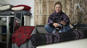 Clare Campbell designed the new tartan (National Trust for Scotland/PA)