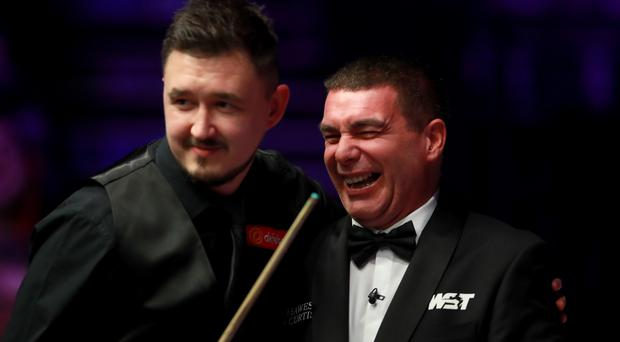 Ben Williams was stung during Kyren Wilson's match at the Masters (Adam Davy/PA)