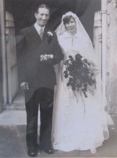 Ivor and Pansy Warren were married in 1955 (Wellbeing Care)