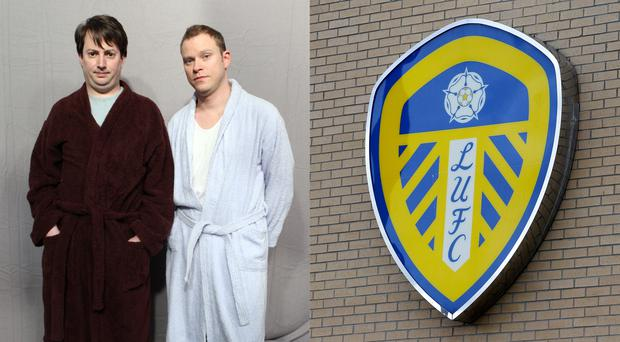 Leeds have been making announcements in a Peep Show-esque way (Ian West/PA, Richard Sellers/PA)