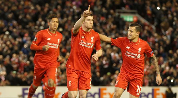 Is Liverpool's James Milner classed as a defender or midfielder? (PA)