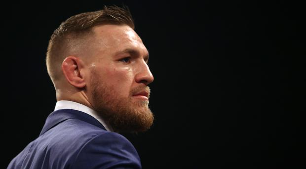 Conor McGregor is preparing for his forthcoming superfight with Floyd Mayweather Jr (Scott Heavey/PA)