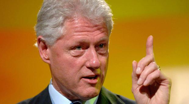 Bill Clinton was involved in the Northern Ireland talks during his time as president.