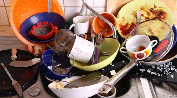 Dishes on the sink (CamiloTorres/Getty Images)