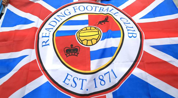 A Reading FC flag – (Nigel French/EMPICS Sport)