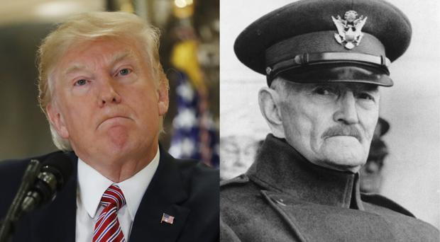 Trump Retells the Pershing Lie. Again. And Again