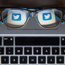 The logo of social network site Twitter