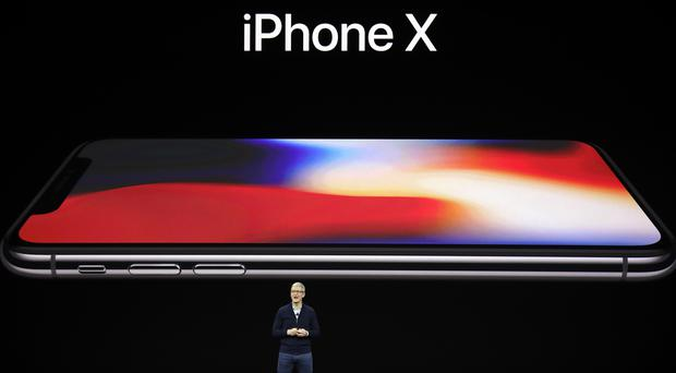 Tim Cook introduces iPhone X