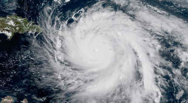 Hurricane Maria from space