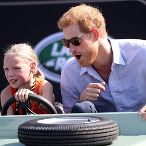 Daimy Gommers and Prince Harry.