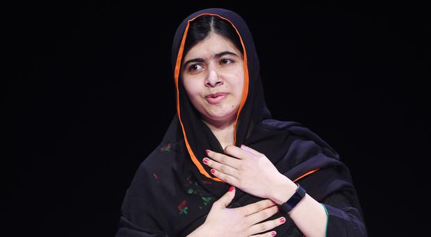 Malala (Joe Giddens/PA)
