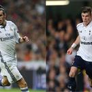 Gareth Bale playing for Tottenham and Real Madrid