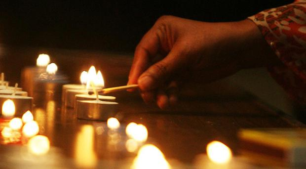 Candles (Lewis Whyld/PA)