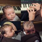 baby with instruments (Songs with my daughter/YouTube/PA)