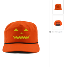 A MAGA hat in orange (donaldjtrump.com/PA)