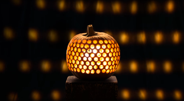 A still of the pumpkin animation