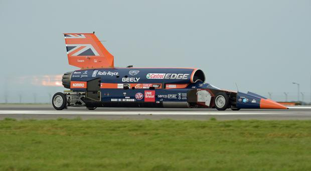 Bloodhound 1,000mph supersonic racing car