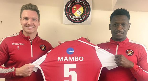 A campaign by Ebbsfleet United helped raise money for Prostate Cancer UK with a special edition 'Mambo No5' shirt
