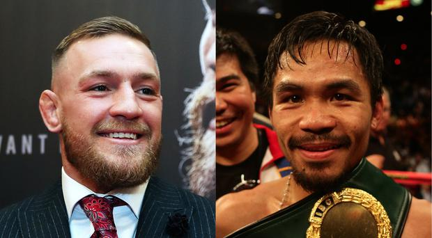 McGregor and Pacquiao