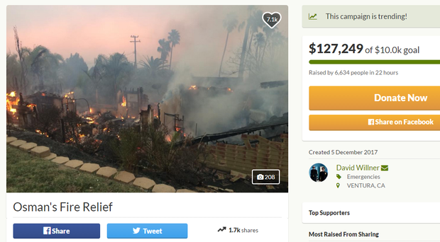 Over six thousand people have donated (GoFundMe/PA)