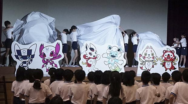 The shortlisted mascot design sets for the Tokyo 2020 Olympic Games and Paralympic Games